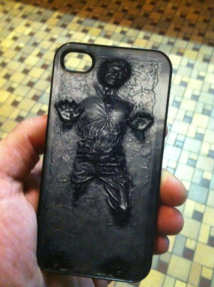 I need this.Iphone Cases, Solo Iphone, Geek Stuff, Phones Covers, Phones Cases, Stars Wars, Iphone Covers, Hans Solo, Starwars