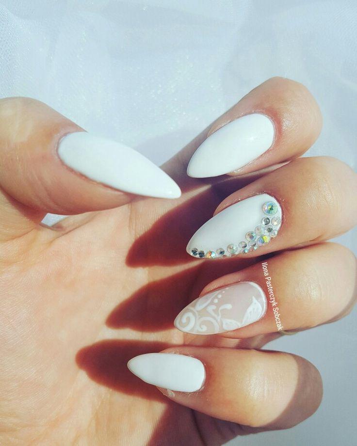 Wedding nails/paznokcie ślubne