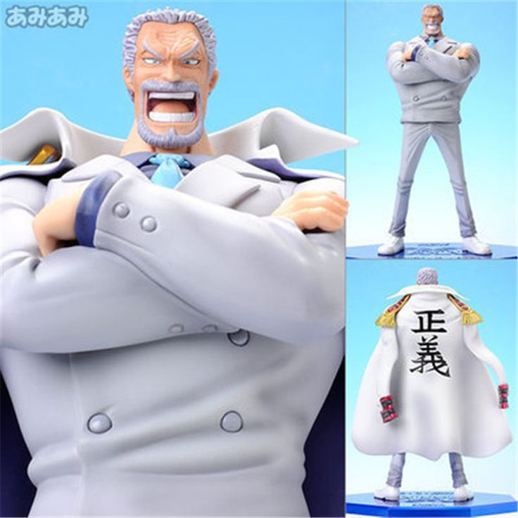 "==> [Free Shipping] Buy Best [PCMOS] Japanese Hot Anime One Piece POP Portrait of Pirates Monkey D. Garp 23cm/9"" PVC Figure Model Collection New In Box 5977 Online with LOWEST Price 
