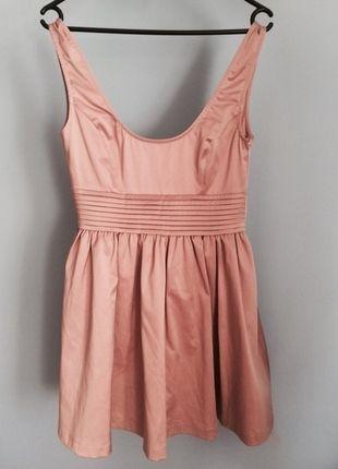 Kup mój przedmiot na #Vinted http://www.vinted.pl/kobiety/sukienki-wieczorowe/9750349-sukienka-zara-pudrowy-roz-princeska-38-m
