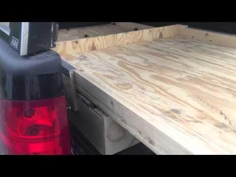 Bed storage/slide best $200 spent - YouTube