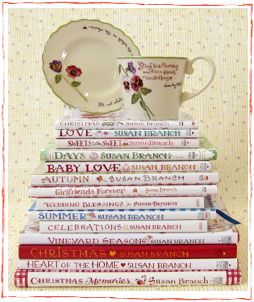 Susan Branch books ~ I read them again and again!