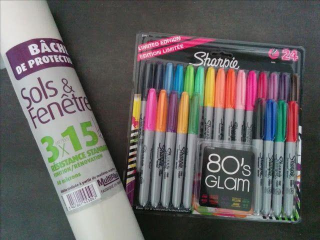 Le papier patron au top et des crayons très chouettes à tout faire. Blog LaisseLuciefer.