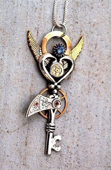Las 25 mejores ideas sobre tatuajes de llaves antiguas en - Llaves antiguas de puertas ...