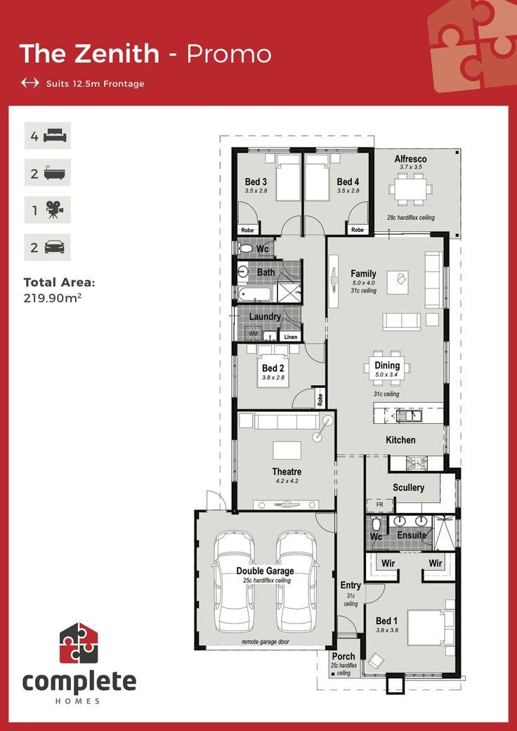 Montilla   Floor Plan