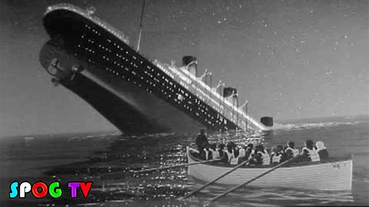 ซากความเสียหาย จาก โศกนาฏกรรมไททานิค - Spog TV