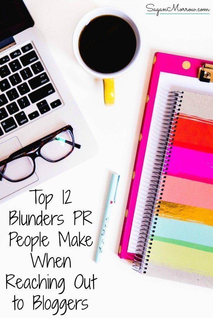 This Humorous Article Features The Top 12 PR Blunders Made When People In Public Relations Have Reached Out To Bloggers You Mistake