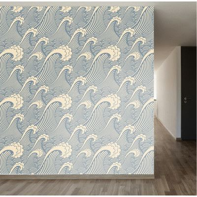 Walls Need Love Waves Of Chic Removable 8 39 X 20 Scenic