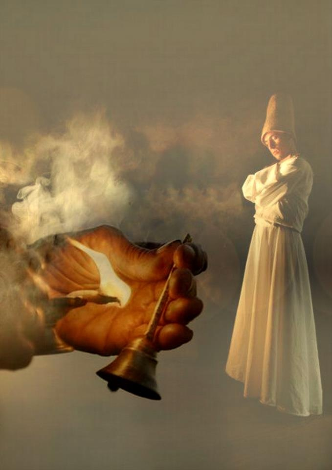 """""""Shh … No more words. Hear only the voice within."""" ~Rumi"""