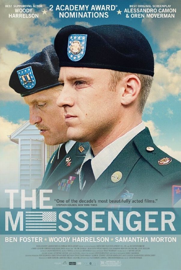 The Messenger.   Woody Harrelson.   He deserved that Oscar nomination.   #Longwood Elementary School   #William Henry Shaw HS
