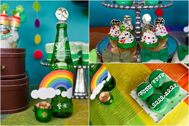 "St. Patrick's Day ""Goldschatz"" Regenbogenparty"