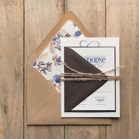 BETHANY Suite Rustic Package. Wedding Invitation ...