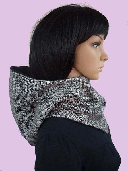 Praktisches & stylisches Accessoire für kühle Tage, gegen kalte Ohren und einen kühlen Kopf...     Kuscheliger Kapuzenschal/kragen zum Liebhaben und Wohlfühlen