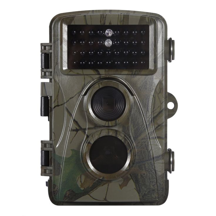 "Trail Hunting Camera, OUTAD Wildlife Camera With 8 MP 720 HD Time Lapse 32ft 70° Wide Angle Infrared Night Vision 34pcs IR LEDs 2.4"" LCD For Screen Scouting Camera Digital Surveillance"
