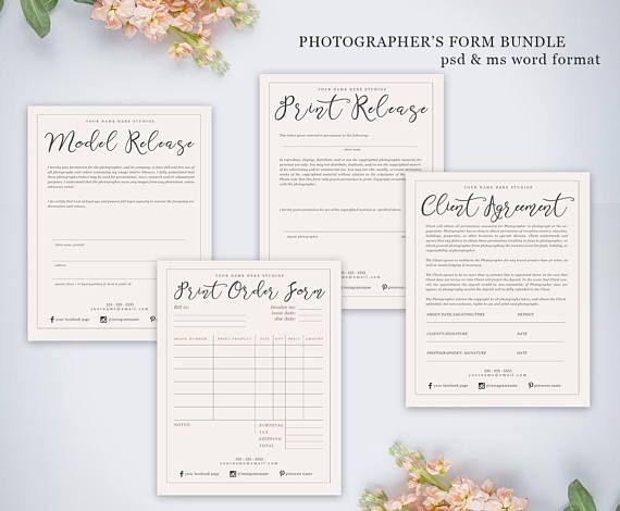 Best 25+ Photography contract ideas on Pinterest Photography - model release form in pdf
