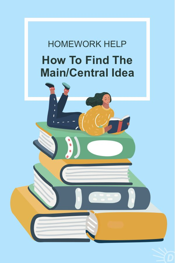 How To Find The Main Idea Of A Text Central Idea Homework Help Reading Informational Texts