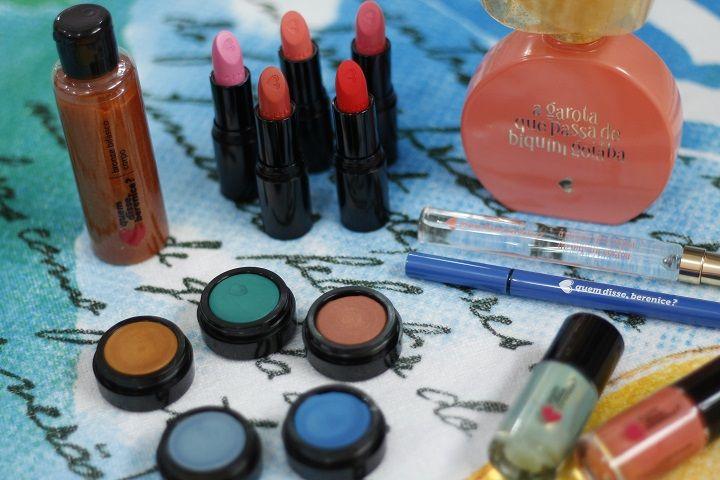Coleção Praiana – quem disse, berenice? - Tudo Make – Maior blog de maquiagem, beleza e tutoriais de Curitiba.