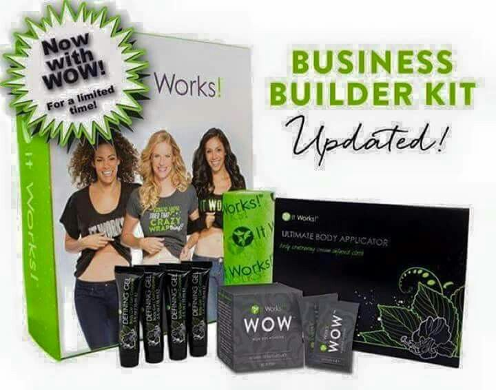 Only $99 to start!! Earn your $100 back by selling the wraps you get! Sign up customers to earn your bonuses!! Contact me to find out how!! hlprouty15.myitworks.com