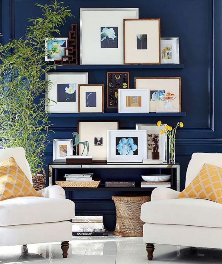 Salas Contemporâneas e Boiserie   Click Interiores