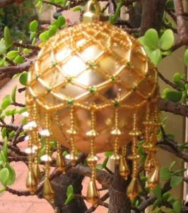 Julia's Place: Beaded Bauble Tutorial...