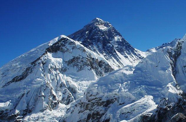 O monte Evereste deslocou-se 40 centímetros em dez anos