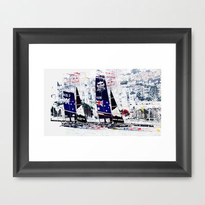 The Rivals  Framed Art Print