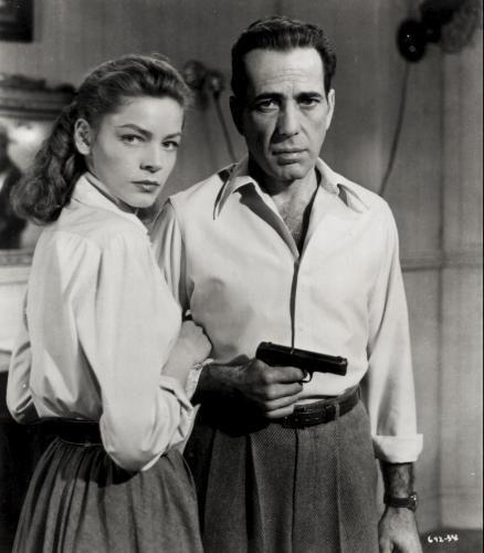"""Key Largo (1948) - """"Cayo Largo"""". John Huston.  Lauren Bacall y Humphrey Bogart."""