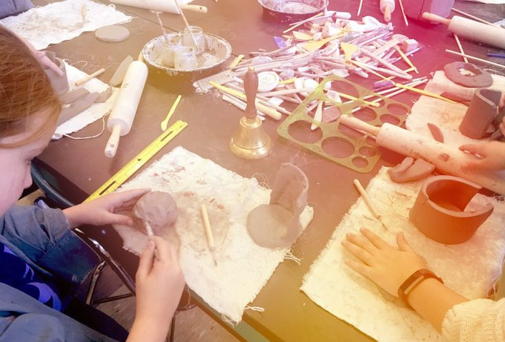 Many people can't wrap their heads around having a clay center for students to work independently in their classroom. Whether you are a TAB teacher looking to open a full-time clay center or want to p