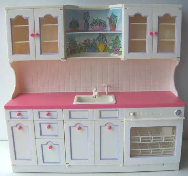 Tyco Kitchen Littles Kitchen Sink Playset Barbie Dollhouse Furniture Accessory Toys Dolls