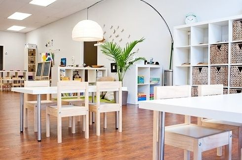 A Bright and Airy Preschool | 30 Epic Examples Of Inspirational Classroom Decor