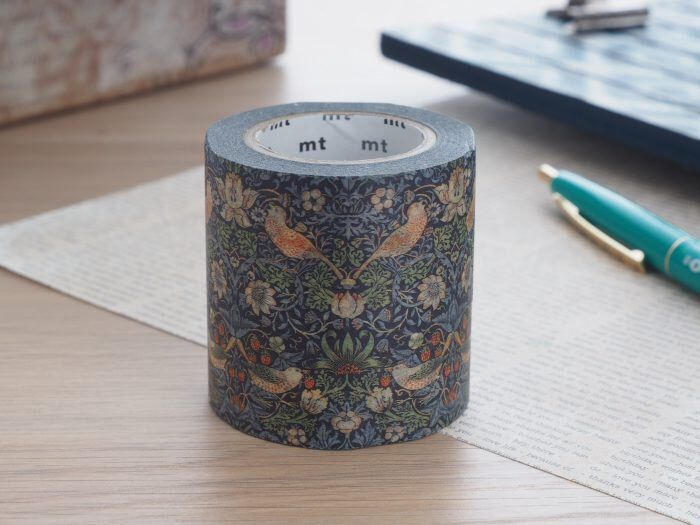 Strawberry Thief MT Tape | MT x Artist Series Washi Tapes MT 2016 Summer Collection (MTWILL05) by WashiWednesday on Etsy https://www.etsy.com/listing/385912108/strawberry-thief-mt-tape-mt-x-artist