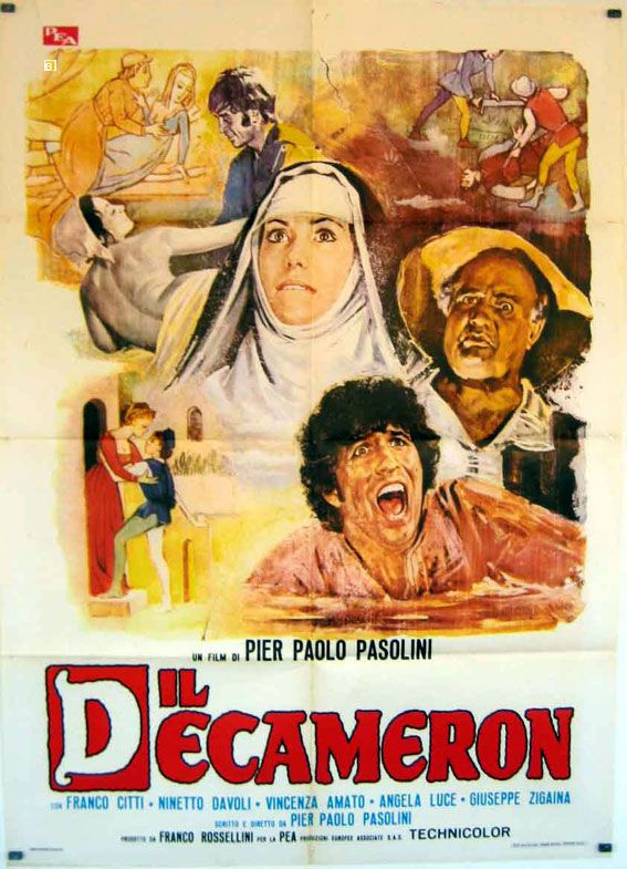 IL Decameron Pier Paolo Pasolini  (1971).