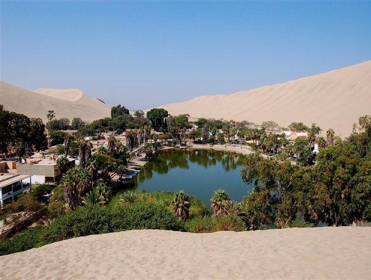 Фантастически живописный оазис в Перу. Его название Уакачина. - Путешествуем вместе