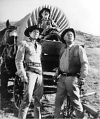 Wagon Train September 18, 1957 – May 2, 1965) is an American Western series that ran on NBC and then on ABC, although the network also aired daytime repeats, as Major Adams, Trailmaster and Trailmaster (post-1961 episodes without original series lead Ward Bond), from January 1963 to September 1965. The show debuted at #15 in the Nielsen ratings, rose to #2 in the next three seasons, and peaked at #1 in the 1961–62 television season.