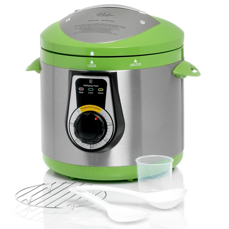 I use my Wolfgang Puck Pressure cooker all the time, food has never tasted better!