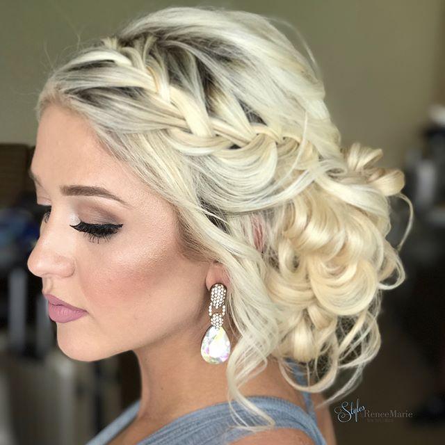 Prom Hairstyles For Thin Hair: Best 25+ Bridesmaid Hair Ideas On Pinterest