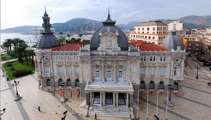 Cartagena, Spain city hall #trivo
