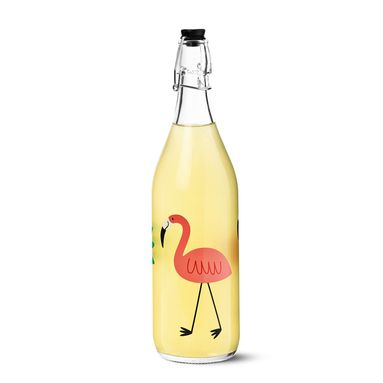 Prendi dei limoni e fai una buona limonata da mettere in questa bottiglia.