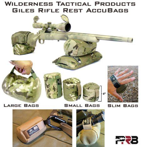 Wilderness Shooting Bags Giles Rifle Rest AccuBags Rear Bag