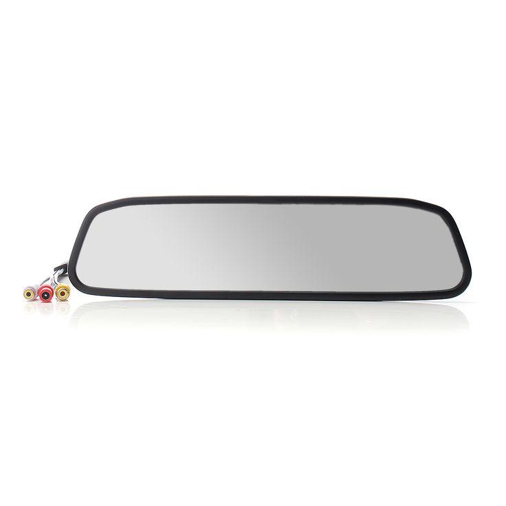 4.3 Inch LCD 4 LED Car Rear View Mirror Monitor Night Vision Reverse Backup HD Camera