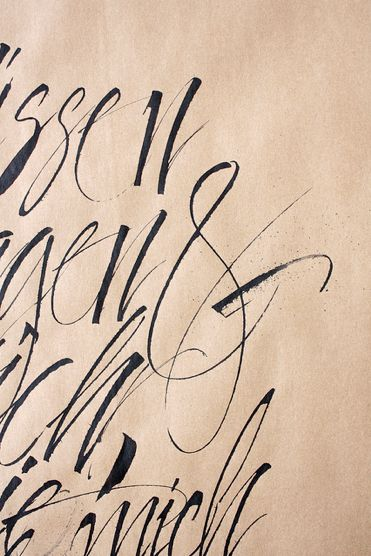 Gorgeous hand-lettering