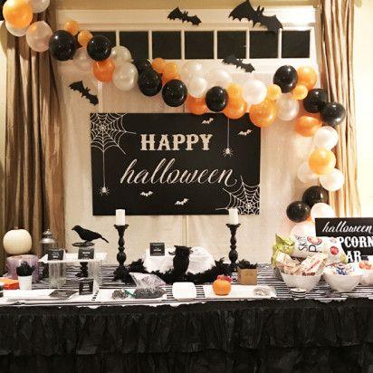Halloween Party Backdrop