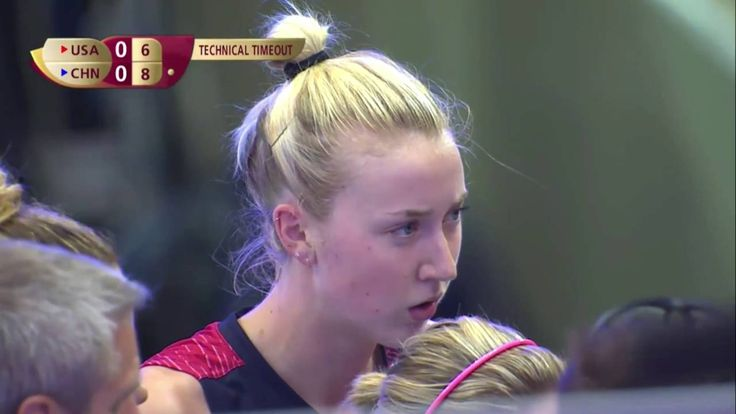 USA vs China - Finals FIVB Volleyball World Grand Prix 2016