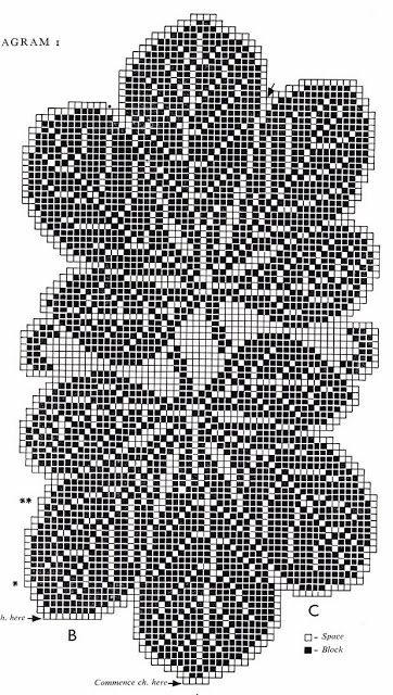 crochet leaf doily