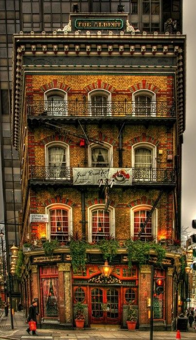 The Albert pub ~ London, England,