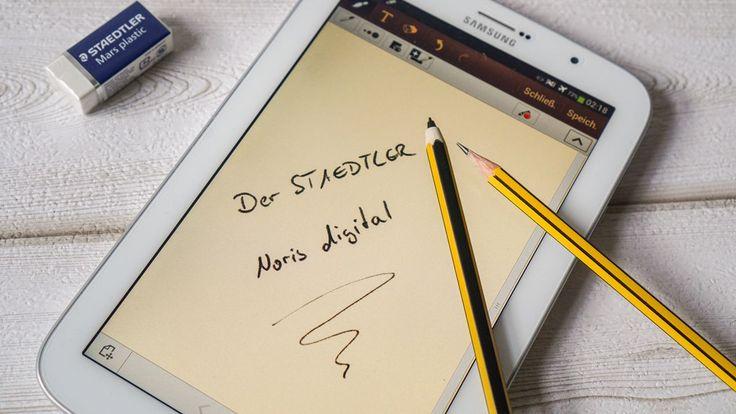 ᵂᴱᴿᴮᵁᴺᴳ Tradition trifft digitale Moderne: Der STAEDTLER Noris Digital