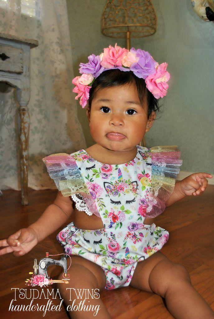 89c120aa0 Unicorn Dreams Romper Cute Outfits For Kids, Cute Kids, Cute Babies, Baby  Kids