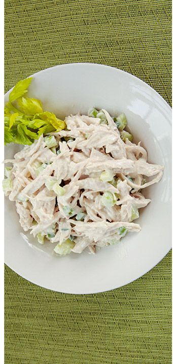 Holy Yum! Jamie Eason's Turkey Salad #Recipe is delicious! Your whole family will enjoy it!