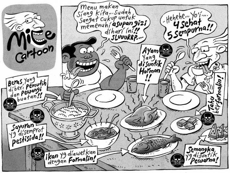 Benny  Mice, Kompas Minggu: 4 Sehat 5 Sempurna