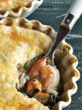 Old Bay Seafood Pot Pie
